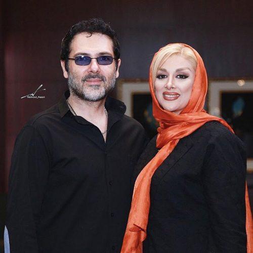 عکس کوروش تهامی و همسرش