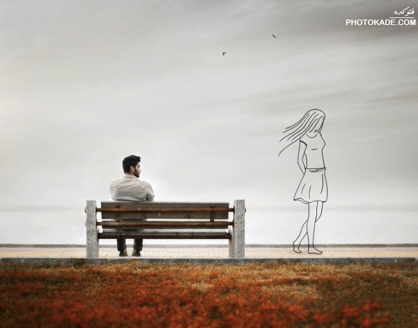 متن های غمگین جدید و احساسی با عکس نوشته های جدید