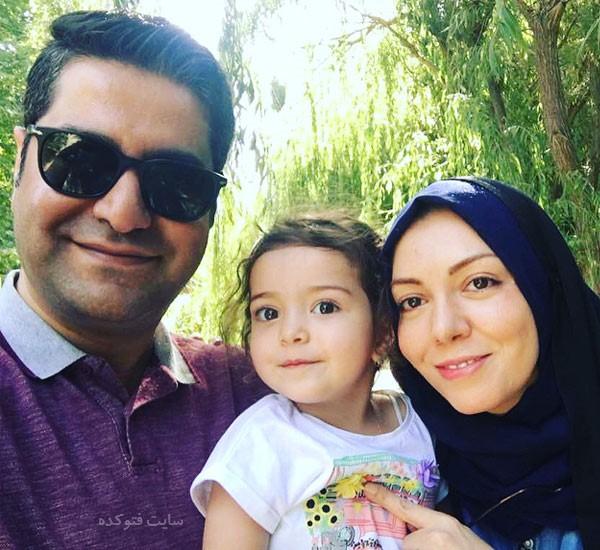 آزاده نامداری و دخترش + همسر دوم + بیوگرافی