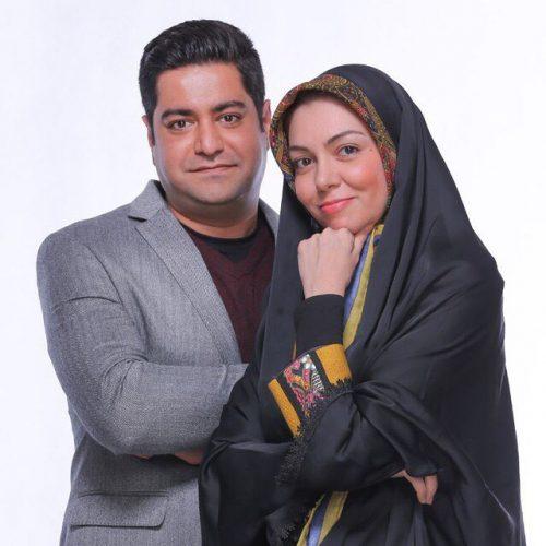 عکس آزاده نامداری و همسرش + عکس های بی حجاب لو رفته در خارج