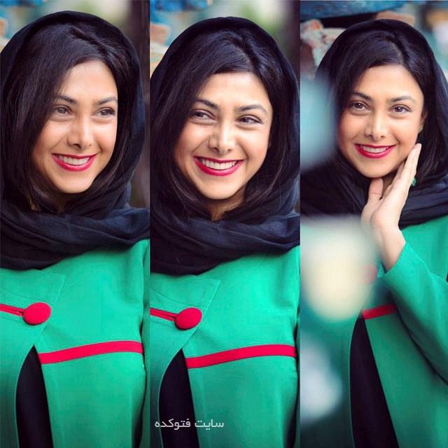 عکس وبیوگرافی آزاده صمدی بازیگر زن ایرانی