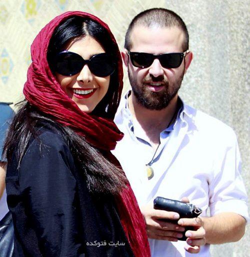 عکس آزاده صمدی و همسرش سابقش هومن سیدی
