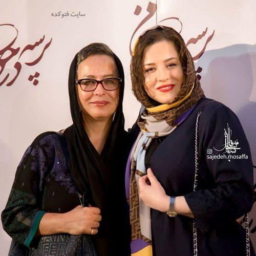 عکس آزیتا حاجیان و دخترش مهراوه + بیوگرافی و شغل دوم