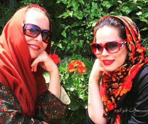 عکس آزیتا حاجیان و دخترش ملیکا شریفی نیا + بیوگرافی