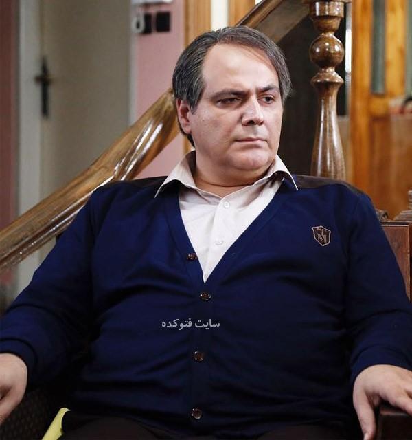 بیوگرافی بازیگران سریال از یادها رفته سید مهرداد ضیایی