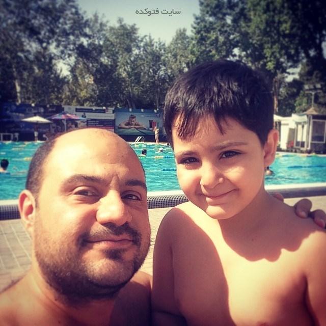بابک بادکوبه و پسرش