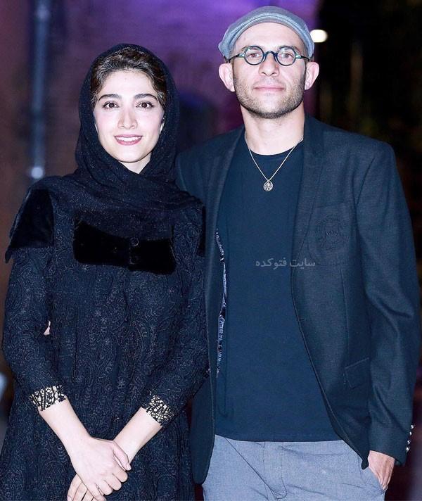 بابک حمیدیان و همسرش مینا ساداتی + بیوگرافی کامل