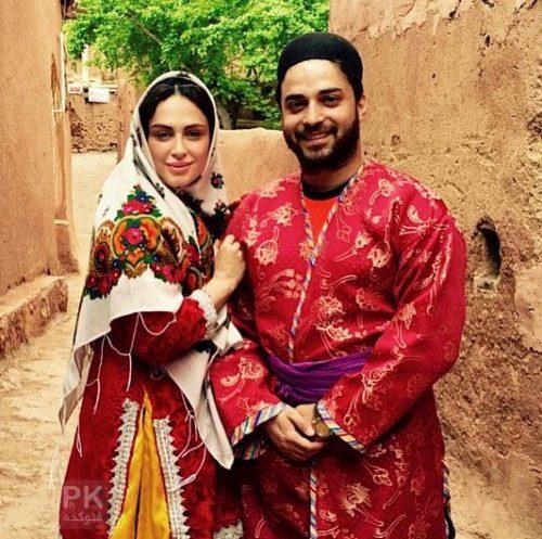 بابک جهانبخش و همسرش در روستای آبیانه + بیوگرافی
