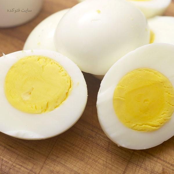 لیست غذاهای بدنسازی تخم مرغ