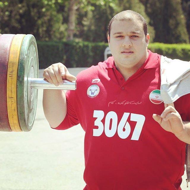 تصادف بهادر مولایی وزنه بردار تیم ملی