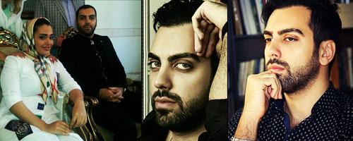 عکس های بهادر زمانی و همسرش,عکس همسر بهادر زمانی,عکس های خفن بهادر زمانی,عکس حاج آقا در سریال تنهایی لیلا,عکس های لو رفته از عروسی بهادر زمانی بازیکر مرد