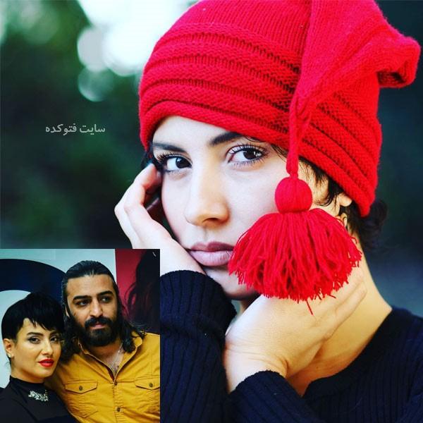 زاواران اسکندری همسر بهارک صالح نیا بازیگر کیست xarovan eskandari