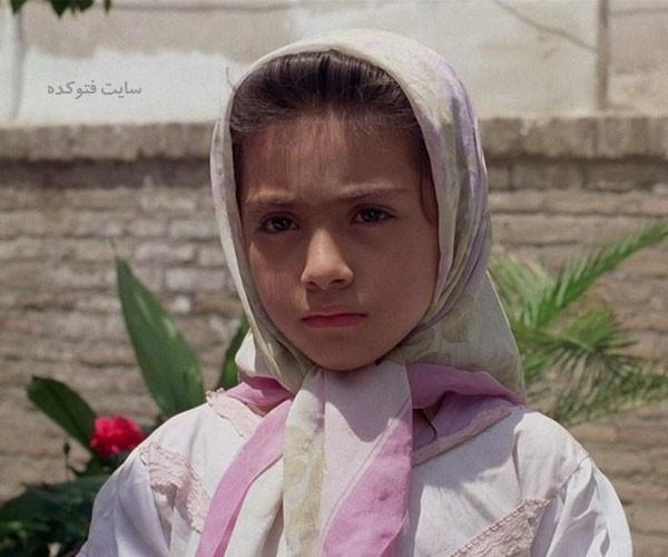 زهرا بازیگر فیلم بچه های آسمان