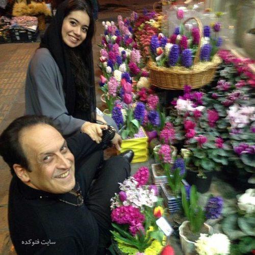 عکس بهمن هاشمی و دخترش + بیوگرافی کامل