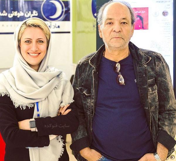 عکس های بهرام ابراهیمی بازیگر + خبرنگار