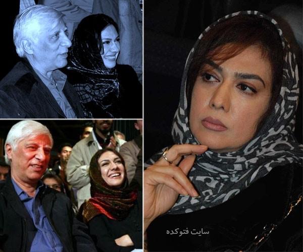 بهرام بیضایی و همسرش مژده شمسایی + زندگینامه