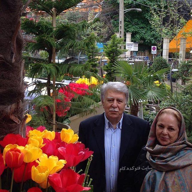 عکس بهرام زند و همسرش + بیوگرافی کامل