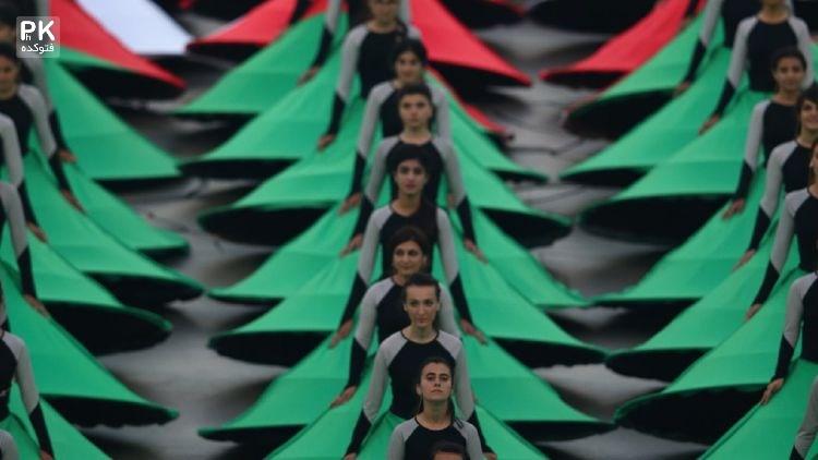 عکس های افتتاحیه المپیک اروپایی 2015 در باکو آذربایجان,عکسهای افتتاحیه بازی های اروپایی 2015 باکو آذربایجان,تصاویر افتتاحیه المپیک اروپایی در آذربایجان 2015