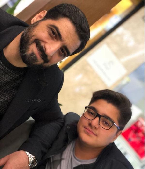 عکس های مجید بنی فاطمه مداح و پسرش سید علی