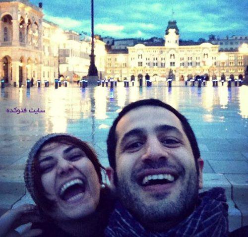 باران کوثری و همسرش
