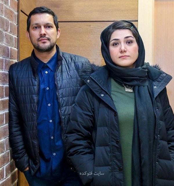 عکس باران کوثری و همسرش حامد بهداد