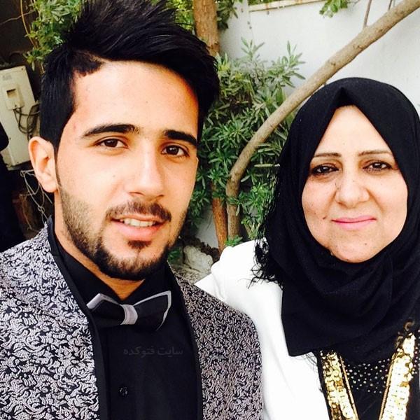 بشار رسن و مادرش + بیوگرافی کامل با عکس