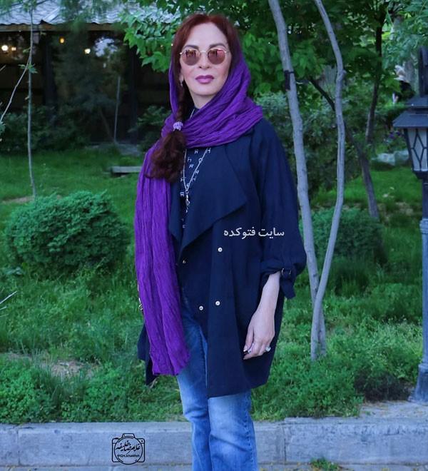 عکس های جدید افسانه بایگان Afsaneh Bayegan بازیگر زن