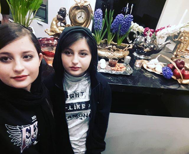 عکس سارا و نیکا فرقانی اصل و عید نوروز