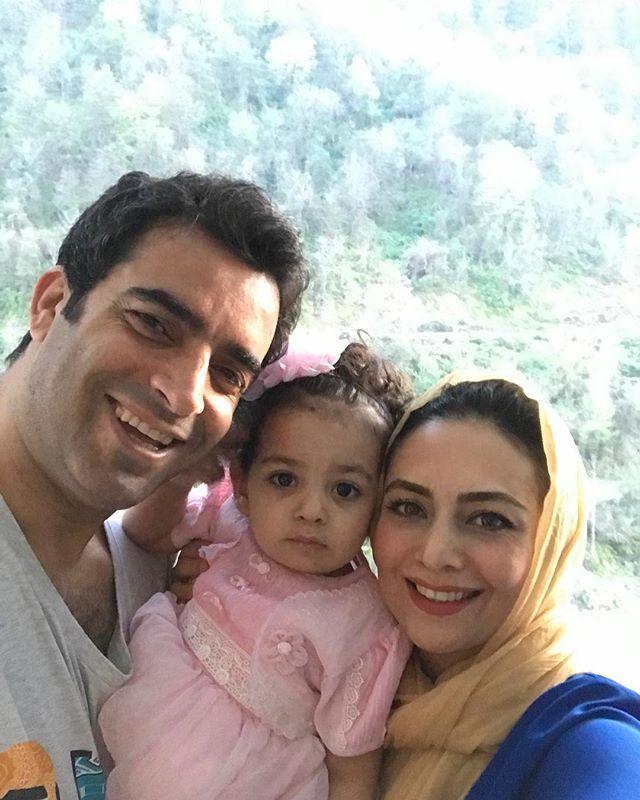 عکس خانوادگی یکتا ناصر در روز عید 97