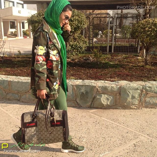عکس بازیگران ایرانی : تینا آخوند تبار
