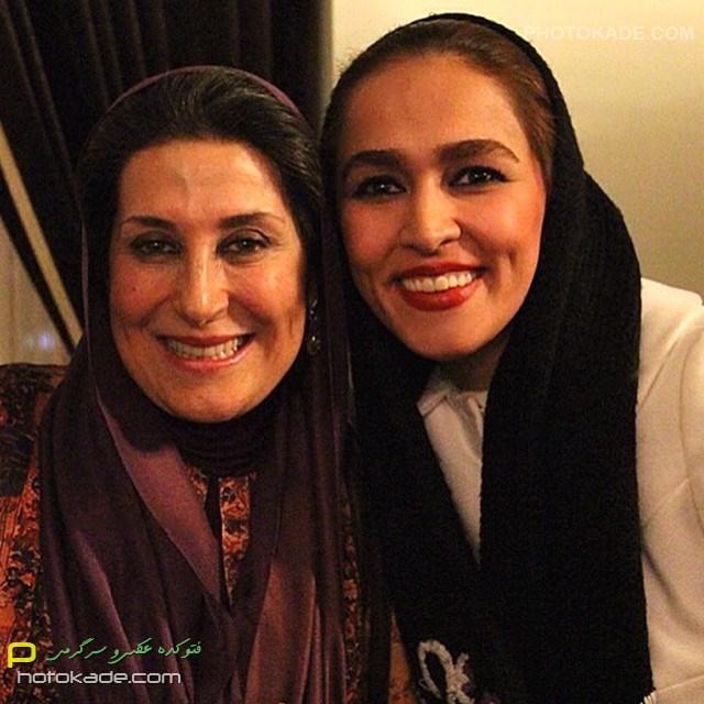 عکس بازیگران ایرانی : سحر صباغ سرشت و بانو سیمین معتمد آریا