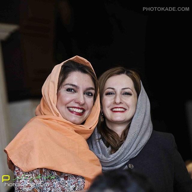 عکس بازیگران ایرانی : شقایق دهقان و الیکا عبدالرازق