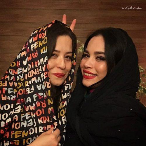 عکس جدید ملیکا و مهراوه شریفی نیا اردیبهشت 96