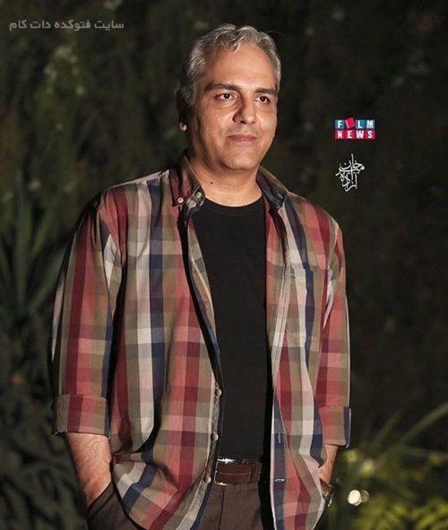 عکس مهران مدیری بازیگر خواننده مرد ایرانی