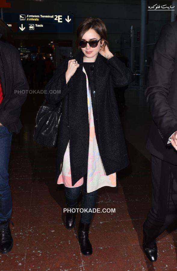 عکس جدید لیلی کلینز در سال 2015