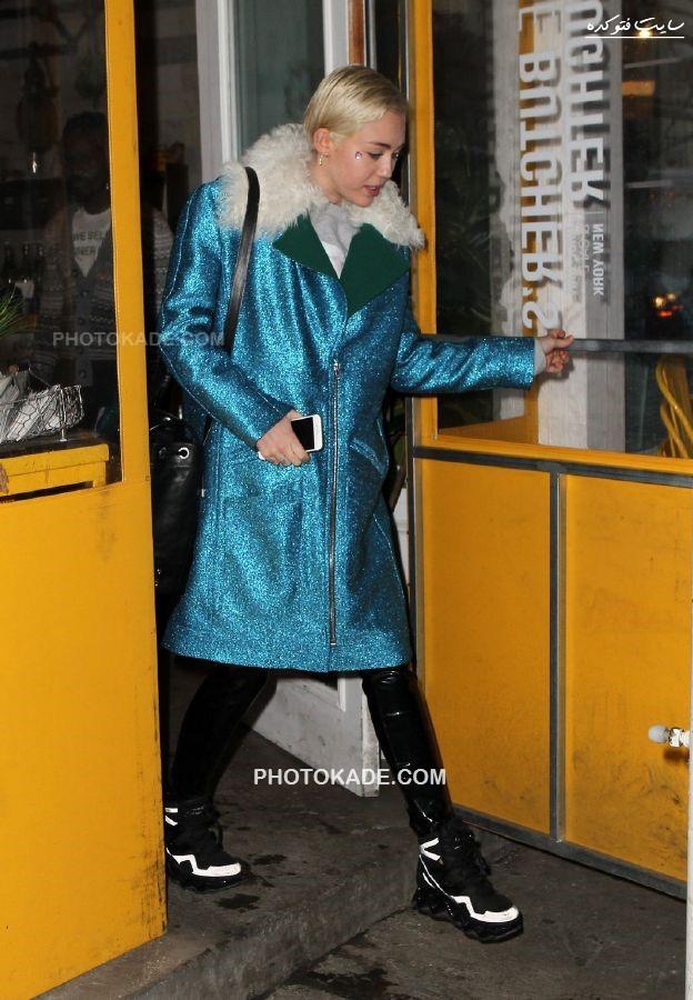 عکس جدید مایلی سایرس در سال 2015