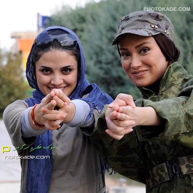 عکس جدید بهاره افشاری زمستان 93 بازیگر زن ایرانی