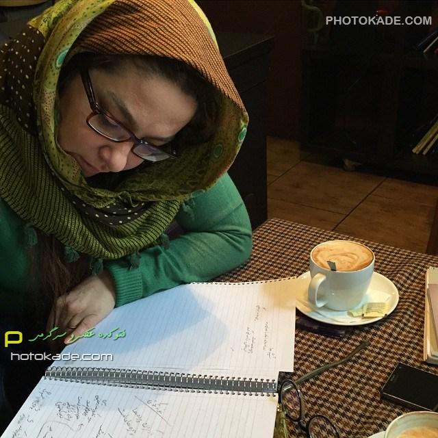 عکس جدید لاله صبوری زمستان 93 بازیگر زن ایرانی