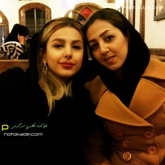 عکس جدید جوانه دلشاد زمستان 93 بازیگر زن ایرانی