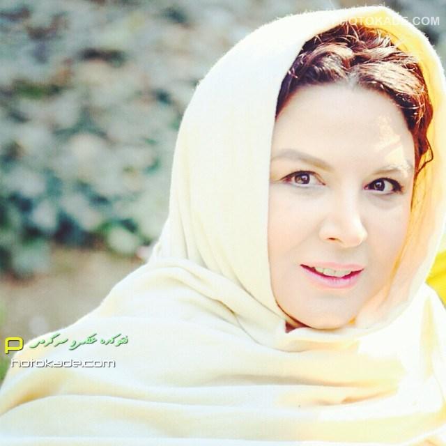 عکس جدید شهره سلطانی زمستان 93 بازیگر زن ایرانی