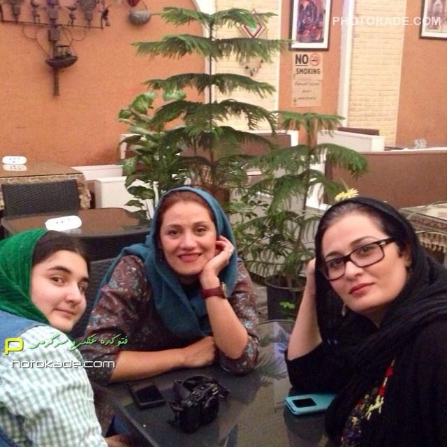 عکس جدید پریوش نظریه و شبنم مقدمی زمستان 93 بازیگر زن ایرانی