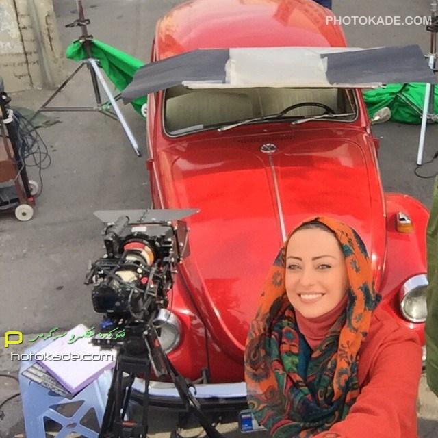 عکس جدید نفیسه روشن زمستان 93 بازیگر زن ایرانی