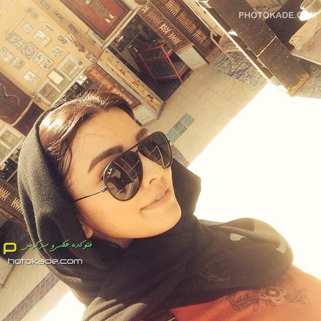 عکس جدید سیما خضر آبادی زمستان 93 بازیگر زن ایرانی