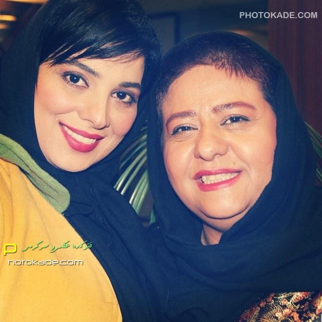 عکس جدید رابعه اسکویی و روشنک عجمیان زمستان 93 بازیگر زن ایرانی