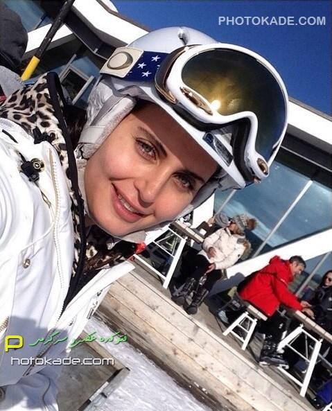 عکس جدید الناز شاکردوست زمستان 93 بازیگر زن ایرانی