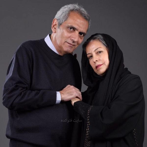 فرخ نعمتی و همسرش سهیلا رضوی در عکس بازیگران سریال بانوی سردار