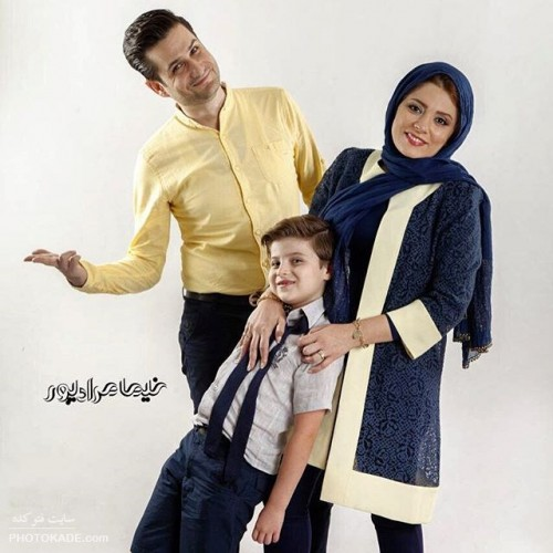 عکس بازیگران و همسرانشان جدید
