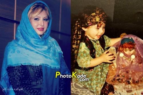 عکس کودکی نیوشا ضیغمی,عکس بچگی نیوشا ضیغمی,عکس کودی بازیگر زن ایرانی,عکس بچگی بازیگر زن ایرانی