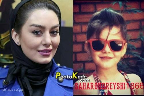 عکس کودکی سحر قریشی,عکس بچگی سحر قریشی,عکس کودی بازیگر زن ایرانی,عکس بچگی بازیگر زن ایرانی