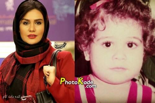 عکس کودکی رز رضوی,عکس بچگی رز رضوی,عکس کودی بازیگر زن ایرانی,عکس بچگی بازیگر زن ایرانی